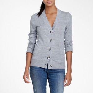 Tory Burch Simone Wool Cardigan